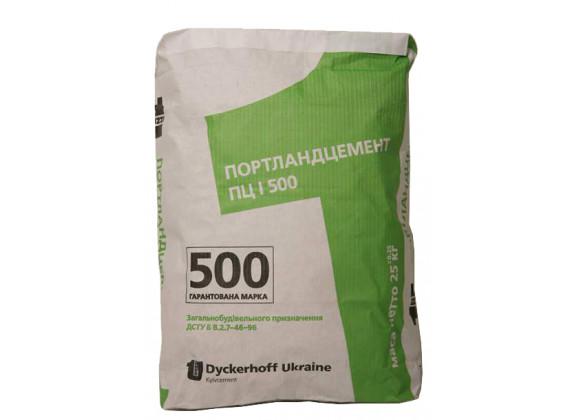 Цемент Dyckerhoff ПЦ-І-500