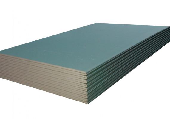 Гипсокартон влагостойкий Knauf 2,5м