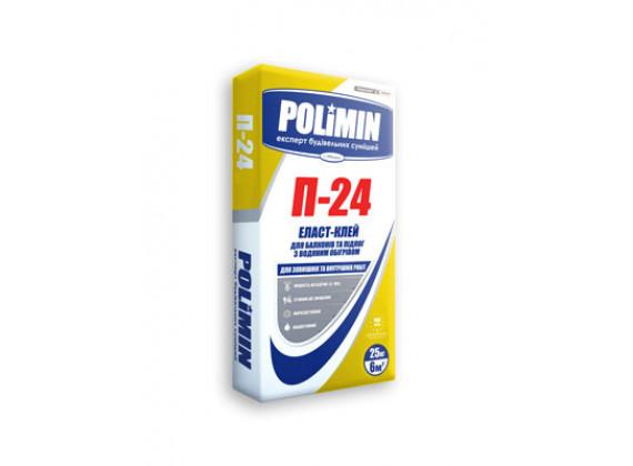 Клей для плитки с водяным обогревом Полимин П 24