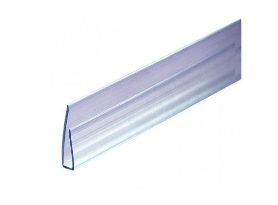 Торцевой профиль для поликарбонатных листов прозрачный 4мм