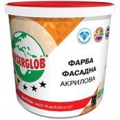 Краска Anserglob 14 кг фасадная акриловая