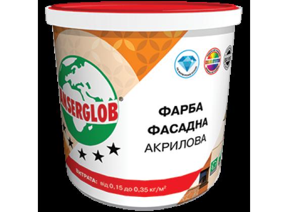 Краска фасадная акриловая Anserglob 14 кг