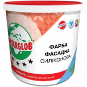 Краска фасадная силиконовая Anserglob 14кг