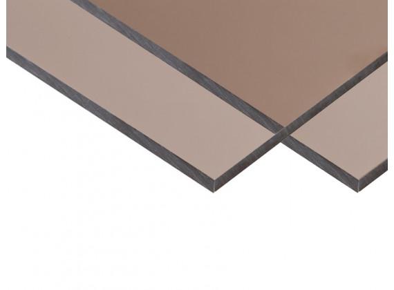 Монолитный поликарбонат бронза Monogal 4мм