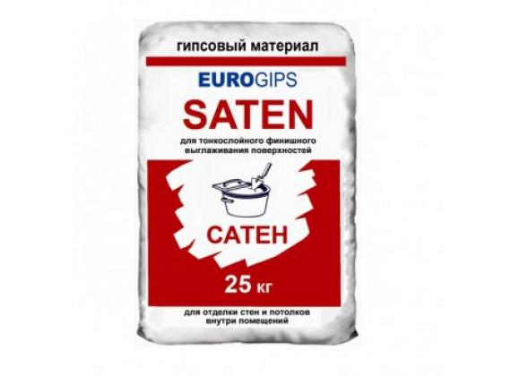 Шпаклевка финишная гипсовая Evrogips Saten
