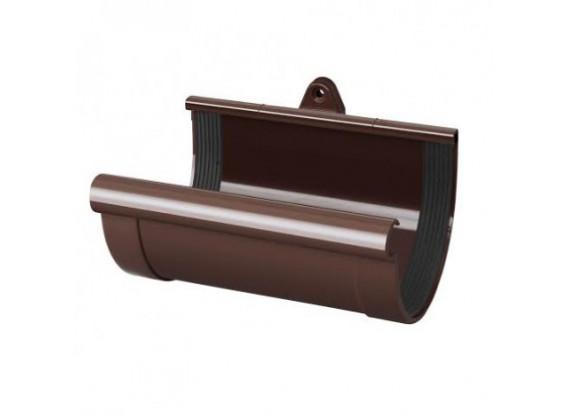 Муфта желоба, коричневая d130 Rainway