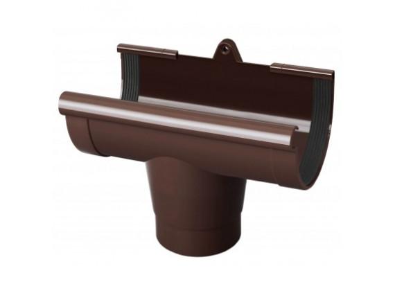 Воронка желоба d130 коричневый Rainway