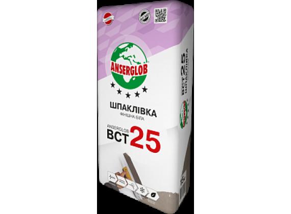 Шпаклевка финишная ANSERGLOB BCT 25