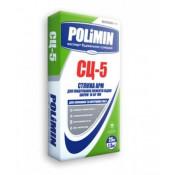 Стяжка цементная для пола Полимин СЦ-5