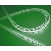 Уголок перфорированный пластиковый арочный 3м
